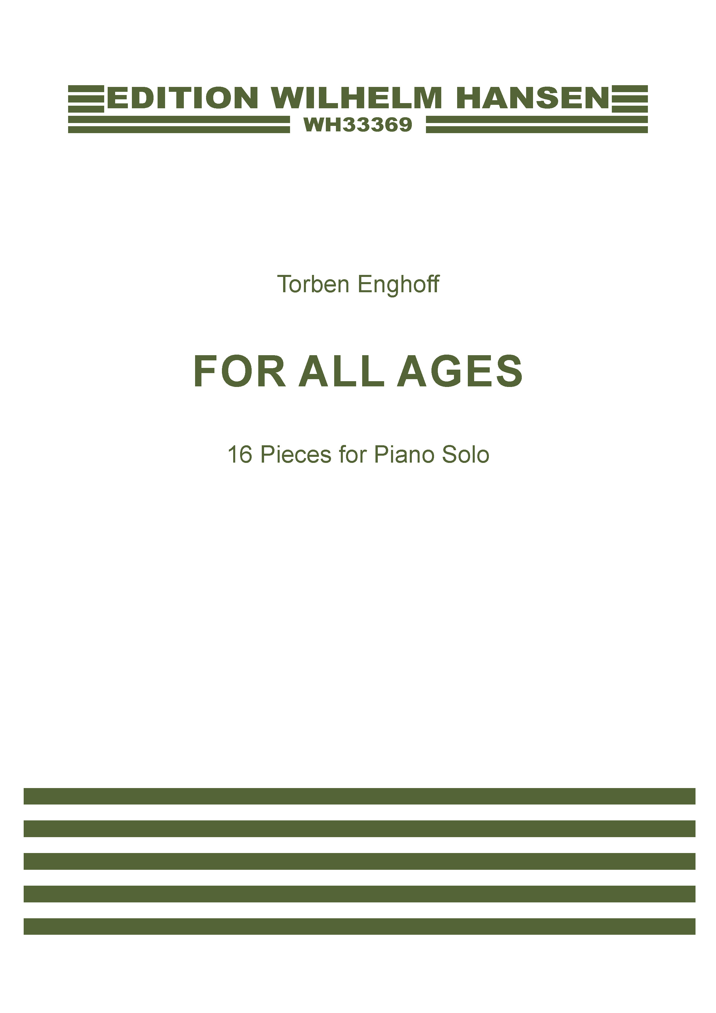 Torben Enghoff: For All Ages: Piano Solo: Instrumental Album
