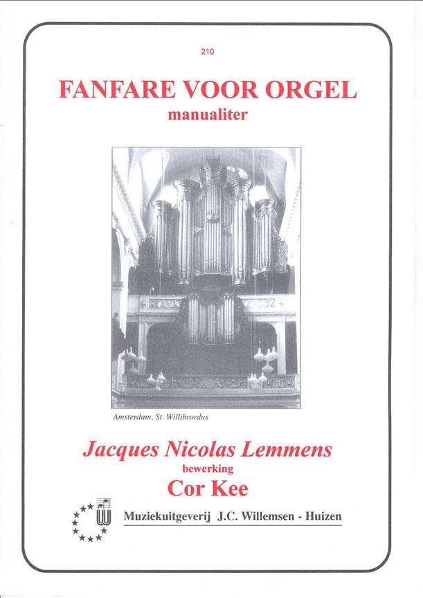 Nicolas-Jacques Lemmens: Fanfare ( Kee ): Organ: Instrumental Album