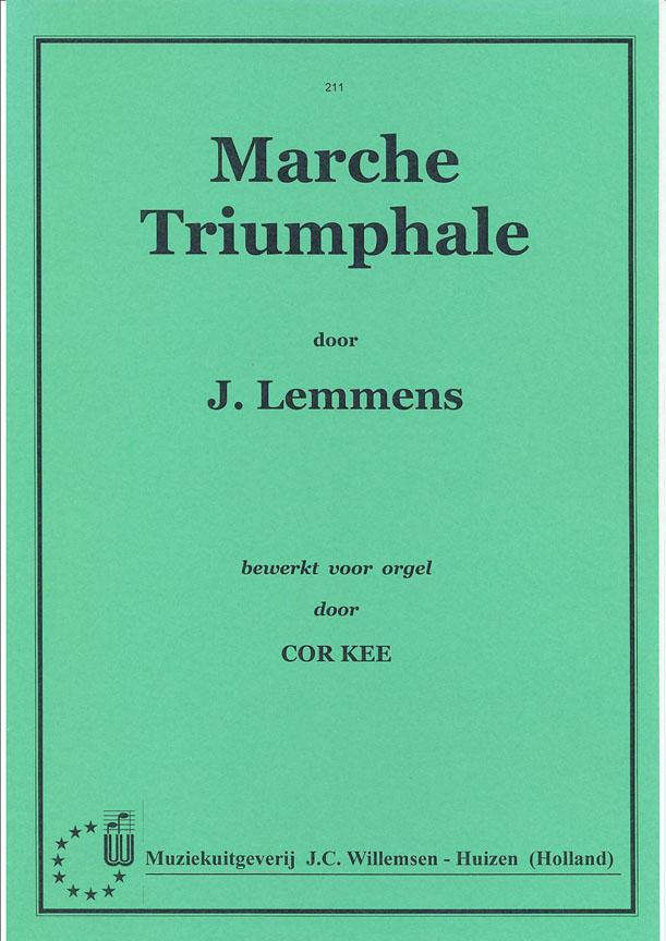Nicolas-Jacques Lemmens: Marche Triomphale: Organ: Instrumental Album