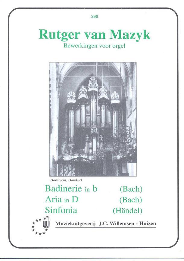 Johann Sebastian Bach: Badinerie B & Aria D & Sinfonia: Organ: Instrumental