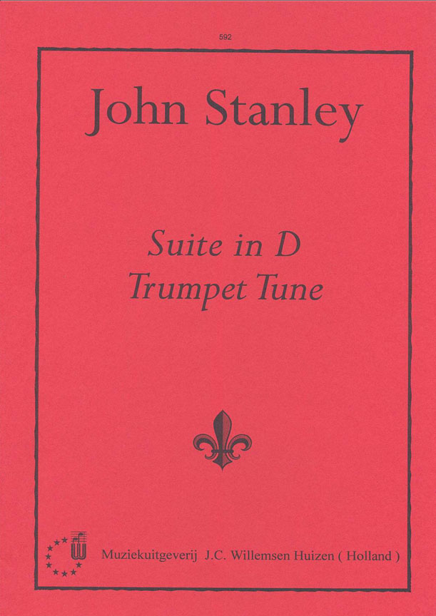 J. Stanley: Suite D & Trumpet Tune: Organ: Instrumental Album