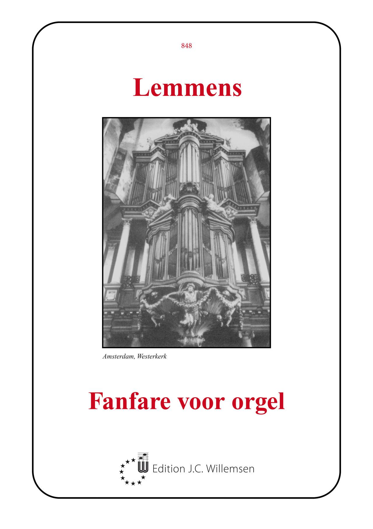 Nicolas-Jacques Lemmens: Fanfare voor orgel: Organ: Instrumental Album