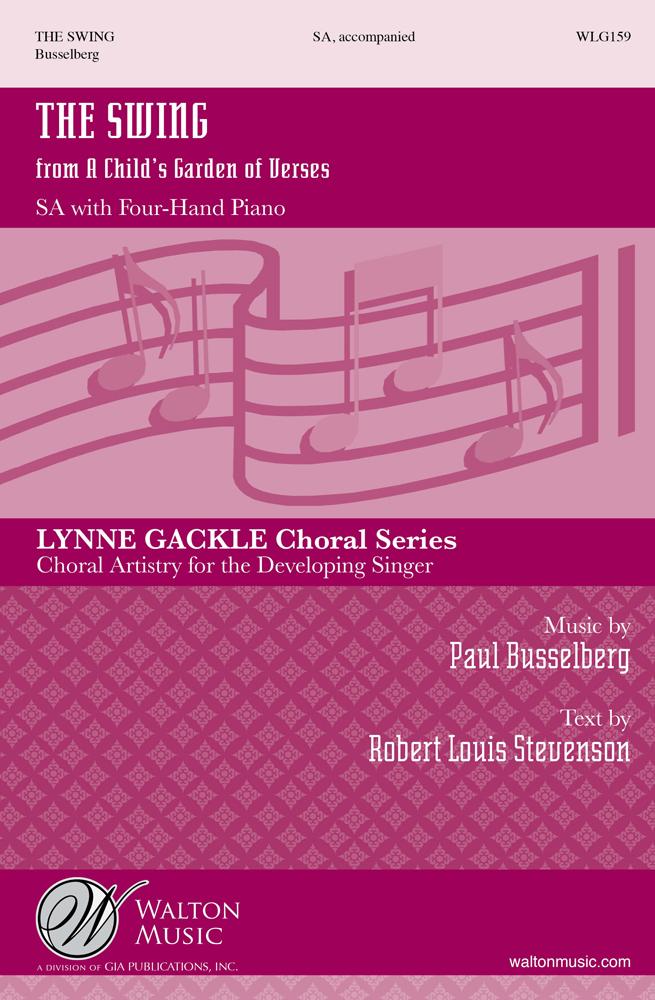 Paul Busselberg: The Swing: 2-Part Choir: Vocal Score