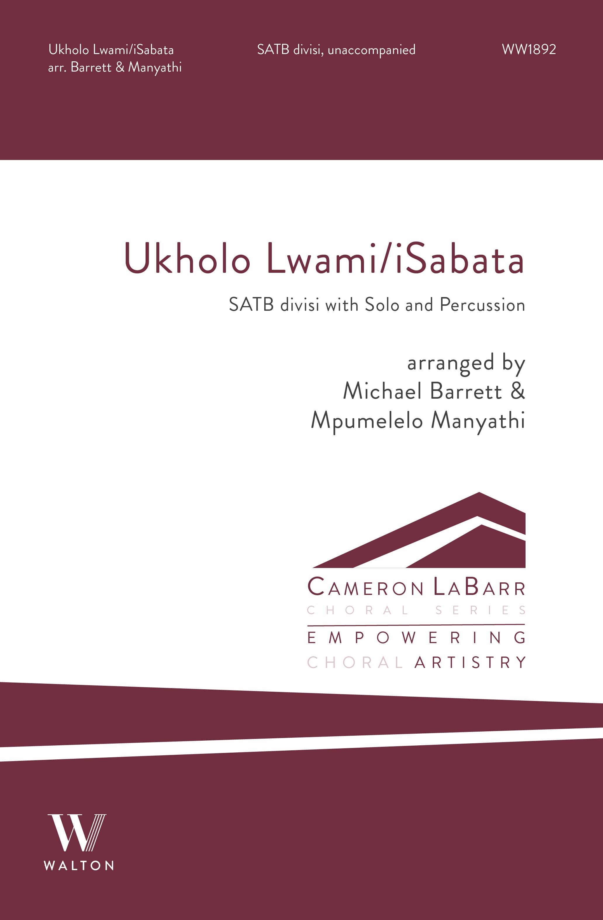 Ukholo Iwami/Isabata: Mixed Choir A Cappella: Choral Score