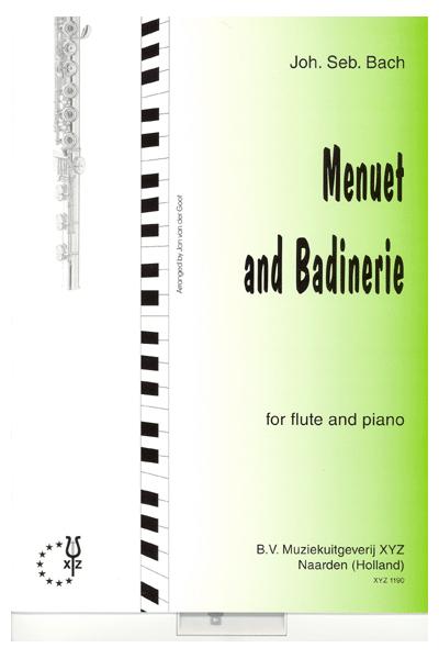 Johann Sebastian Bach: Menuet And Badinerie: Flute: Instrumental Work