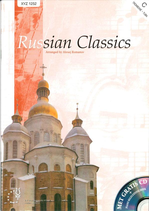 A. Romanov: Russian Classics: Bass Clef Instrument: Instrumental Album