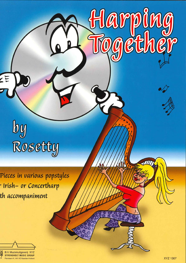 Rosetty: Harping Together: Harp: Instrumental Album