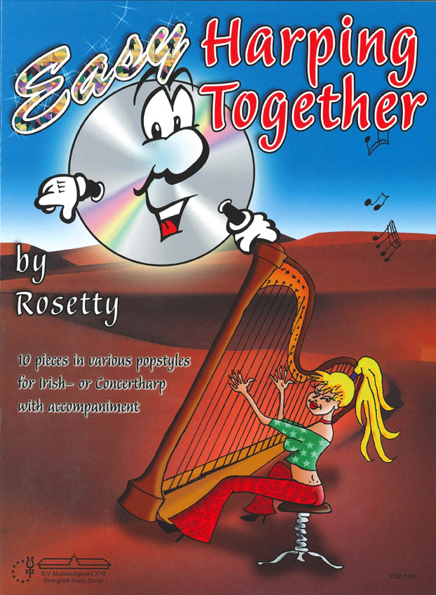 Rosetty: Easy Harping Together: Harp: Instrumental Album
