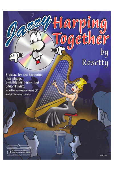 Rosetty: Jazzy Harping Together: Harp: Parts