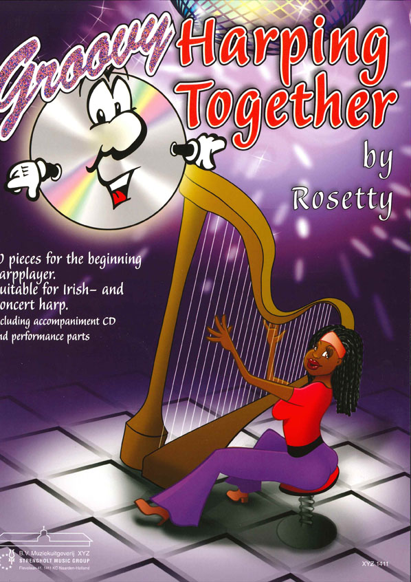 Rosetty: Groovy Harping Together: Harp: Instrumental Album