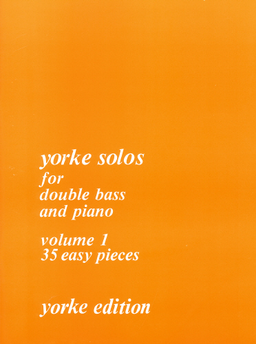 Philip A. Parker: Yorke Solos For Double Bass: Double Bass: Instrumental Album