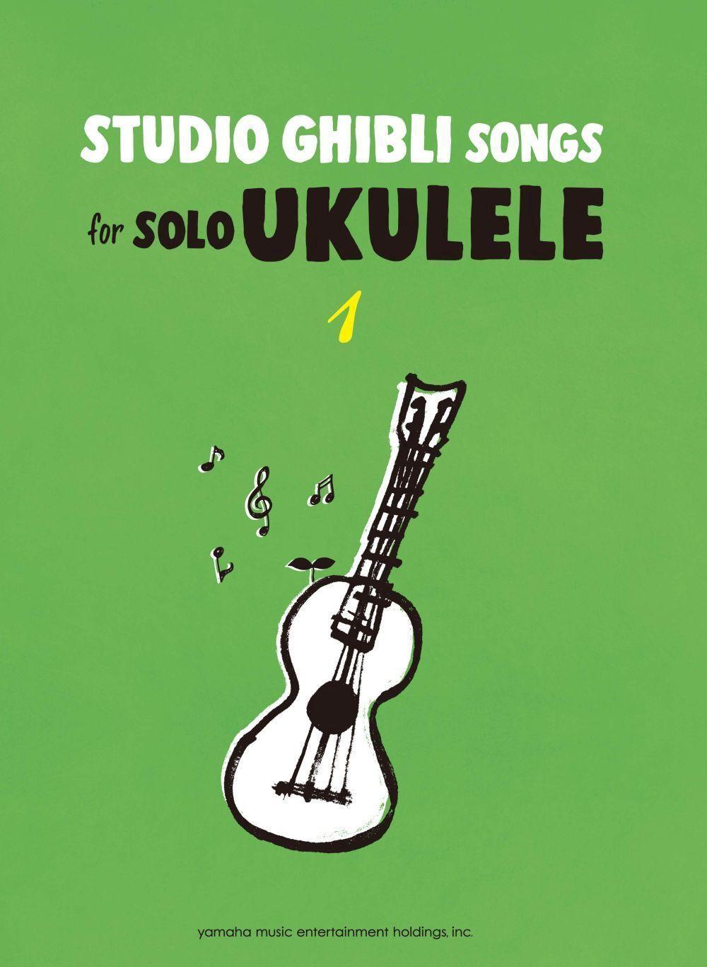 Studio Ghibli Songs for Solo Ukulele Vol.1/English: Ukulele: Instrumental Album