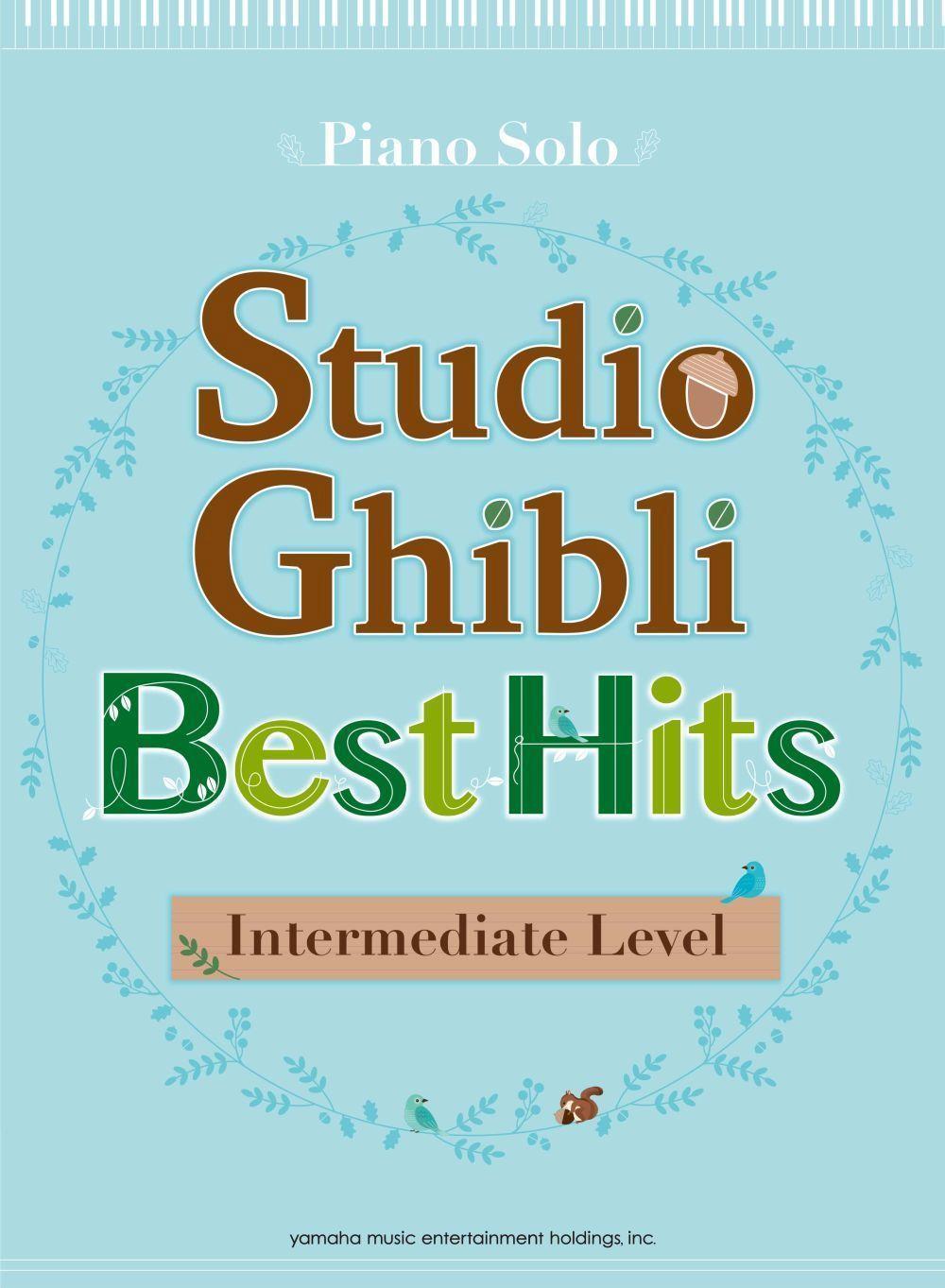 Studio Ghibli Best Hit 10 Intermediate/English: Piano: Instrumental Album