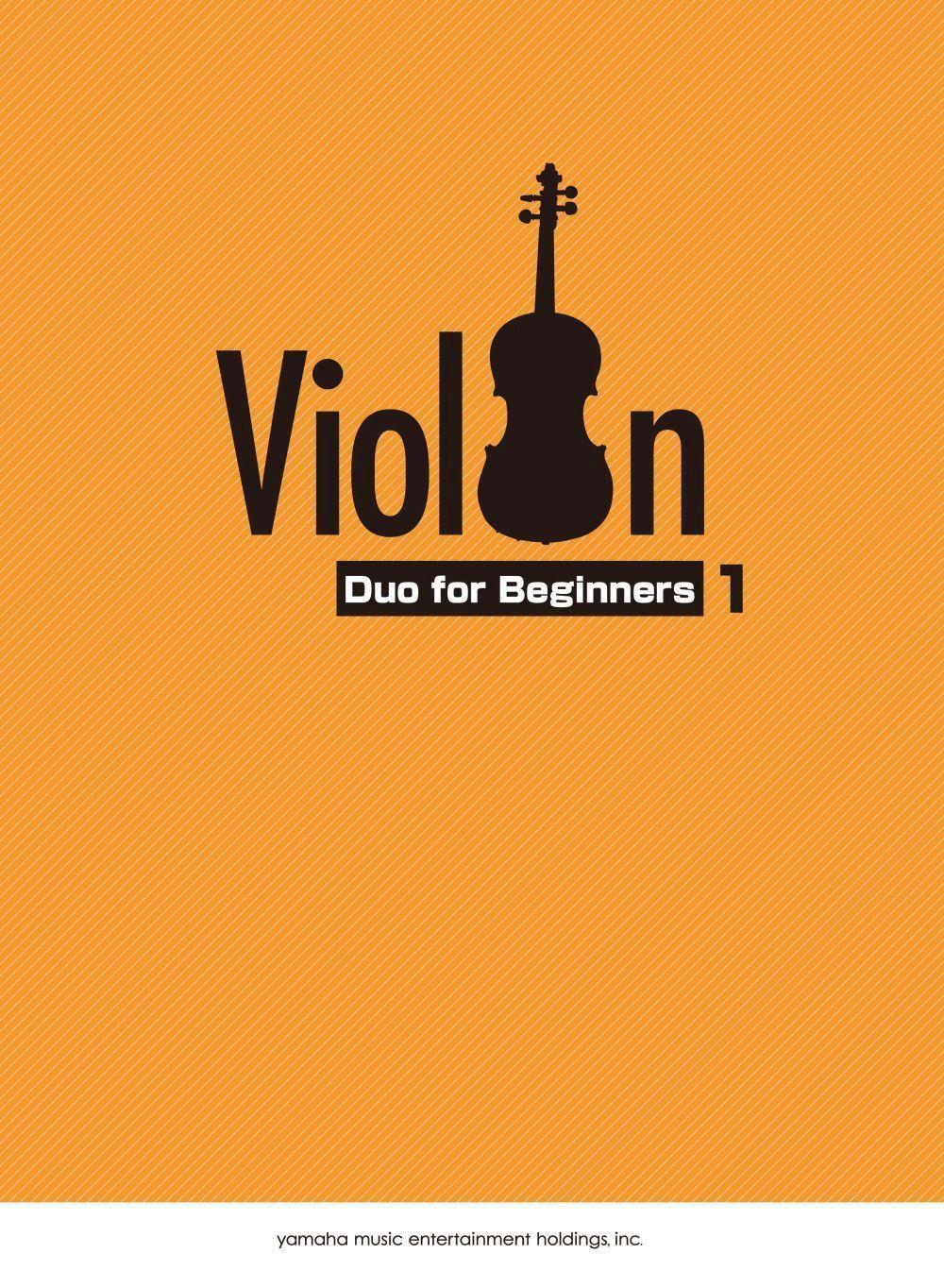 Violin Duo for Beginners Vol.1/English: Violin Duet: Instrumental Album