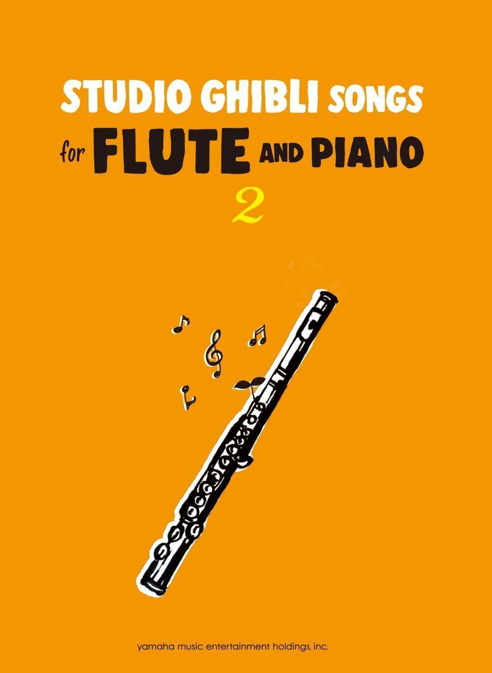 Studio Ghibli Songs for Flute Vol.2/English: Flute: Instrumental Album