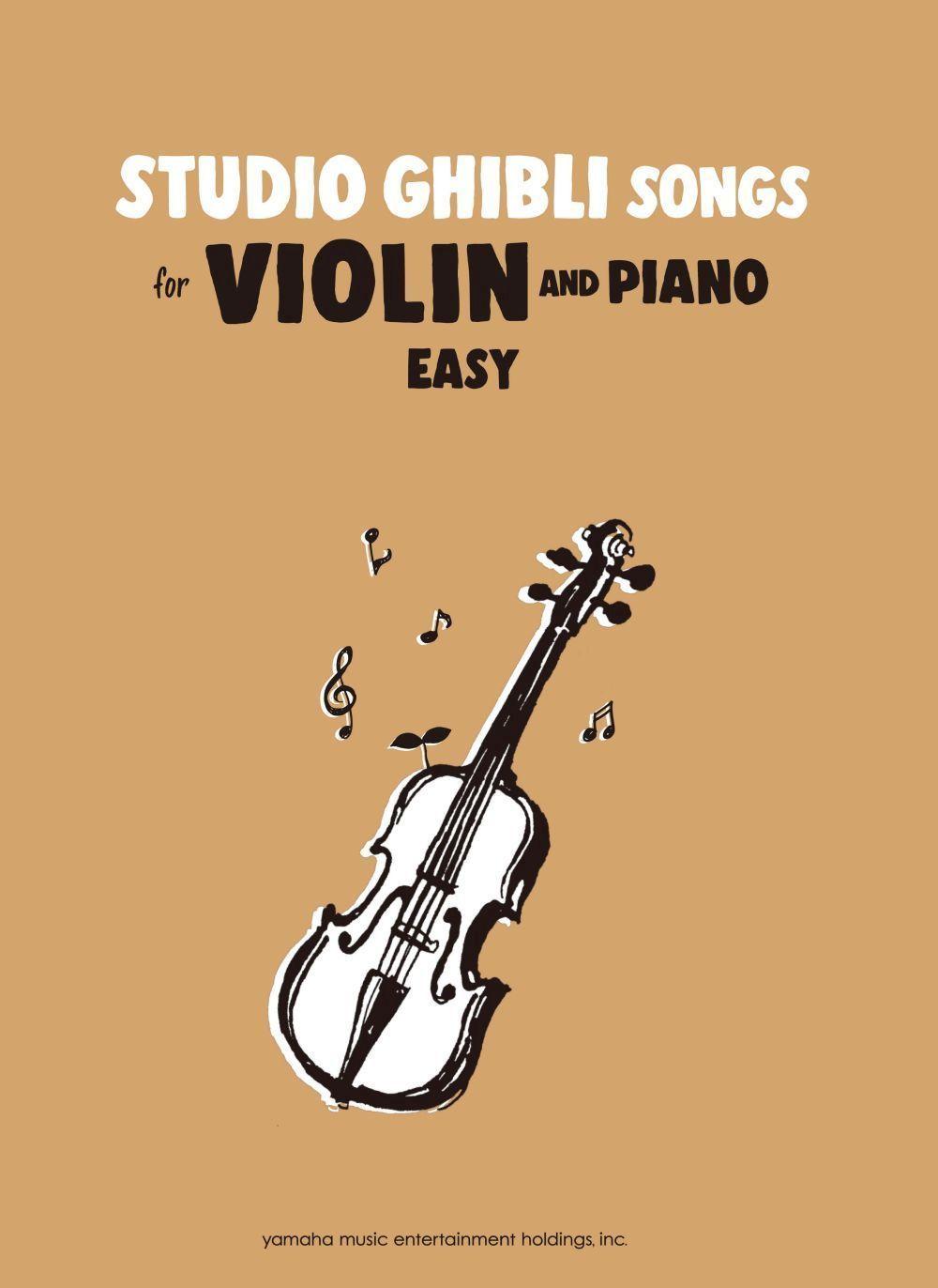 Studio Ghibli Songs for Violin Easy/English: Violin: Instrumental Album
