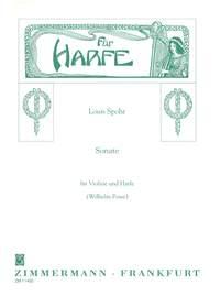 Louis Spohr: Sonate c-Moll: Violin: Instrumental Work
