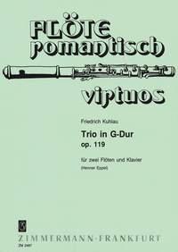 Friedrich Kuhlau: Trio in G-Dur op. 119: Flute Duet: Instrumental Work