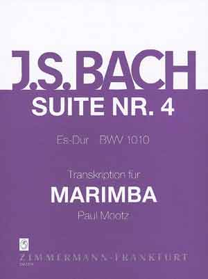 Johann Sebastian Bach: Suite 4 Bwv1010: Cello: Instrumental Work