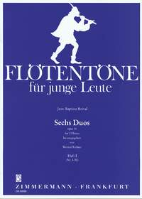 Jean-Baptiste Breval: Sechs Duos op. 16 Heft I: Flute Duet: Instrumental Work