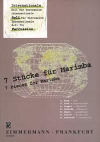 Siegfried Fink: 7 Stücke für Marimba: Marimba: Instrumental Album