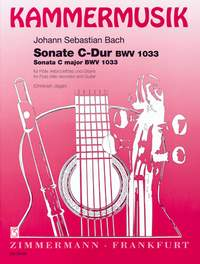 Johann Sebastian Bach: Sonata C Major BWV 1033: Flute: Instrumental Work