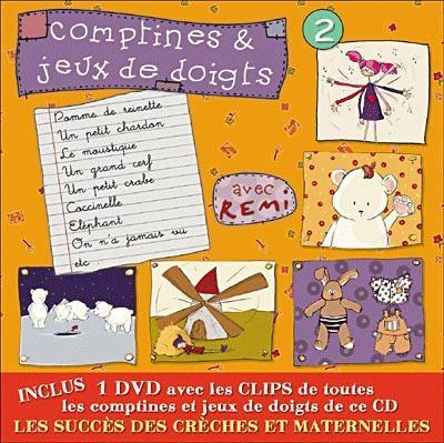 Album CD/DVD `Comptines et jeux de Doigts` avec Rémi Vol.2