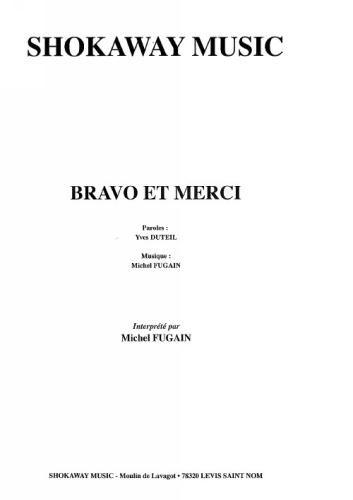 Fugain, Michel : Bravo Et Merci