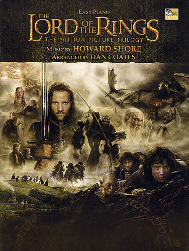 Shore, Howard : The Lord Of The Rings Trilogy : Easy Piano