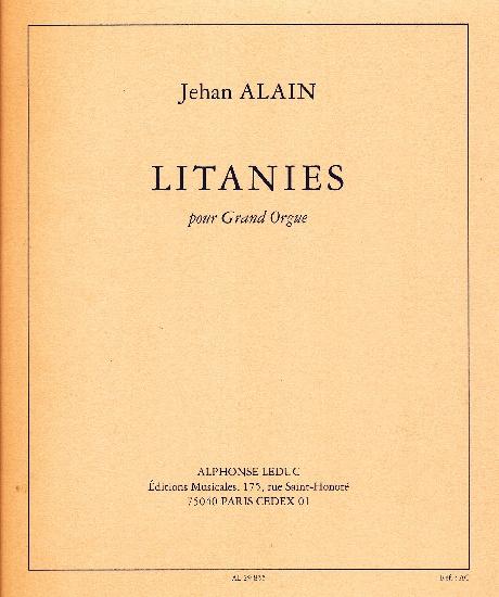 Alain, Jehan : Litanies pour Grand Orgue