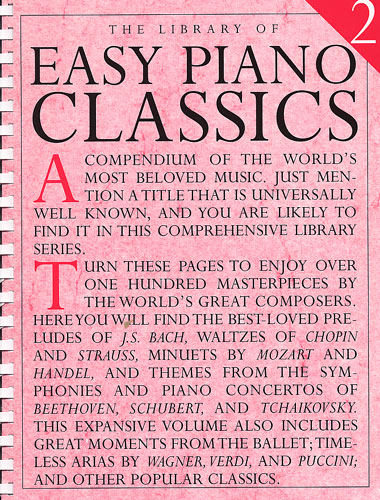 The Library of Easy Piano Classics - Volume 2