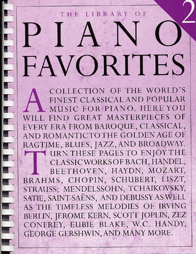 The Library of Piano Favorites - Volume 2