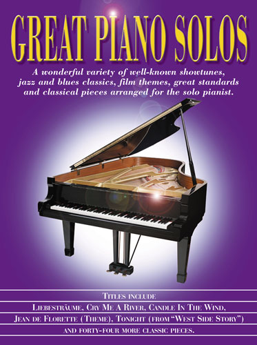 Great Piano Solos : The Purple Book