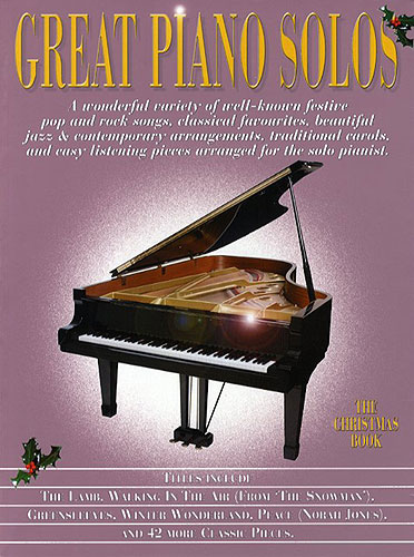Great Piano Solos - The Christmas Book