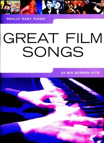 Really Easy Piano Great Film Songs 22 Hits
