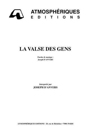 D'Anvers, Joseph : La Valse Des Gens