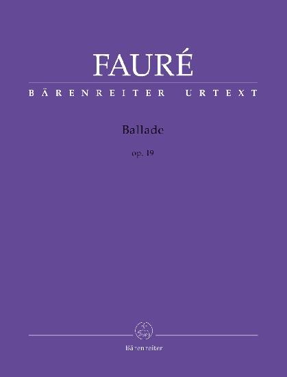 Fauré, Gabriel : Ballade op. 19