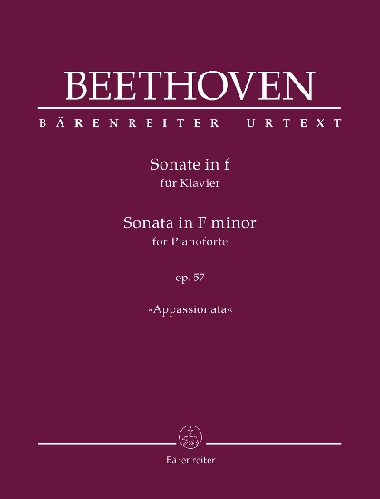 Beethoven, Ludwig Van : Sonata for Pianoforte F minor op. 57