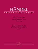 Haendel, Georg Friedrich : ?uvres pour clavier - Volume 4 : Suites et pièces pour clavier isolées / Keyboard Works - Volume 4