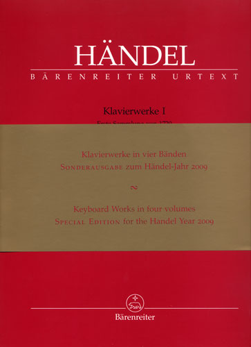 Haendel, Georg Friedrich : Keyboard Works, Volumes 1 à 4