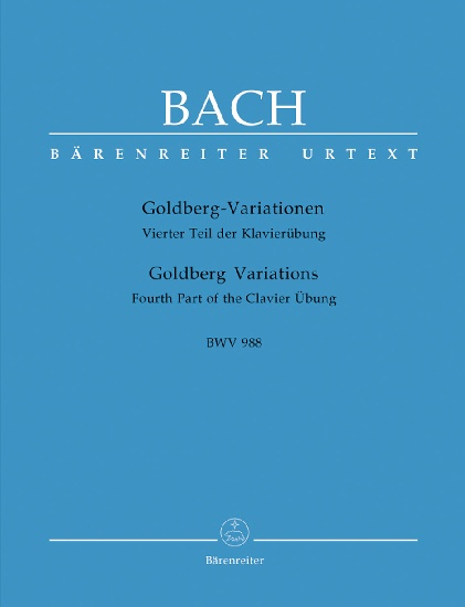 Variations Goldberg BWV 988 (Aria et 30 variations) / Goldberg Variations BWV 988 (Aria and 30 Variations) (Bach, Johann Sebastian)