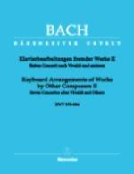 Arrangements pour clavier d'?uvres d'autres compositeurs - Volume 2  (Bach, Johann Sebastian)