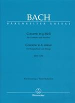 Bach, Johann Sebastian : Concerto pour clavecin en sol mineur BWV 1058 (n° 7) / Concerto for Harpsichord in G minor BWV 1058 (No. 7)