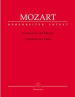 Mozart, Wolfgang Amadeus : Variations pour piano / Variations for Piano