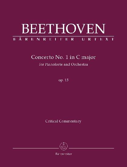 Beethoven, Ludwig Van : Concerto for Pianoforte und Orchestra no. 1 C major op. 15