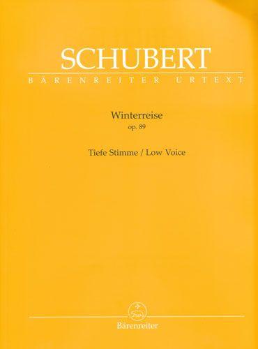 Schubert, Franz : Winterreise Opus 89