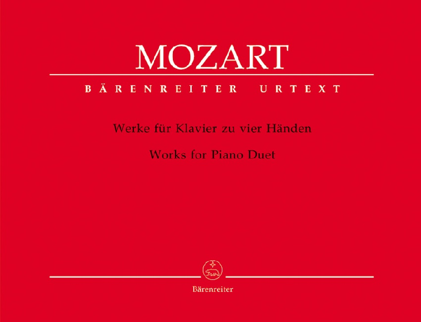 Mozart, Wolfgang Amadeus : Complete Works for Piano four hands