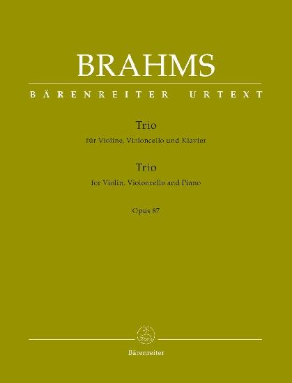 Brahms, Johannes : Trio for Violin, Violoncello and Piano op. 87