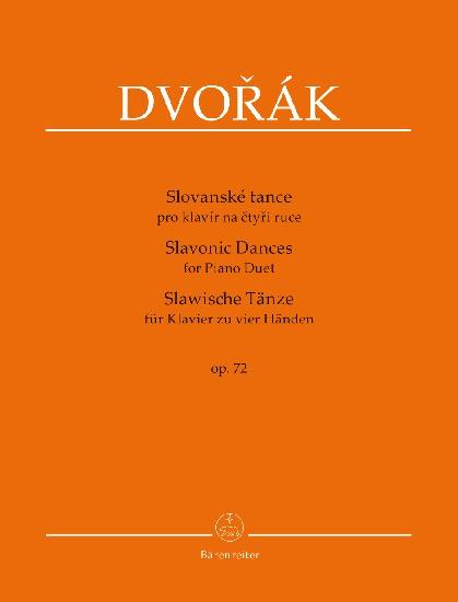Dvorak, Antonin : Slavonic Dances for Piano Duet op. 72