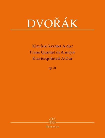 Dvorak, Antonin : Piano Quintet A major op. 81